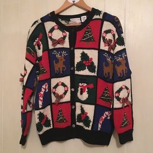 Westbound Sweaters - Vintage Christmas Cardigan Sweater